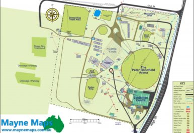 2. showground map